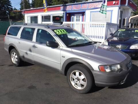2004 Volvo XC70 for sale at 777 Auto Sales and Service in Tacoma WA