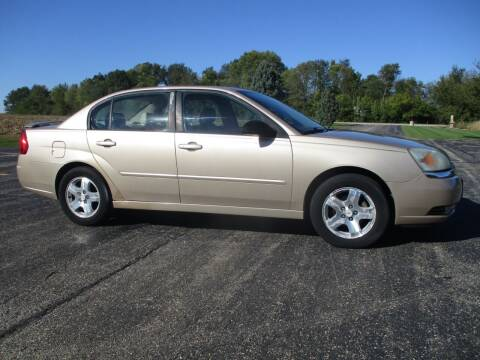 2005 Chevrolet Malibu for sale at Crossroads Used Cars Inc. in Tremont IL