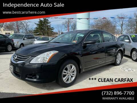 2011 Nissan Altima for sale at Independence Auto Sale in Bordentown NJ