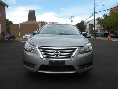 2014 Nissan Sentra for sale at Arlington Auto Sales Inc in Arlington VA
