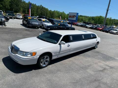 1999 Lincoln Town Car for sale at Billy Ballew Motorsports in Dawsonville GA