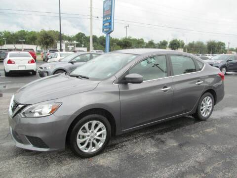 2019 Nissan Sentra for sale at Blue Book Cars in Sanford FL