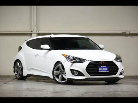 2015 Hyundai Veloster for sale at MGI Motors in Sacramento CA