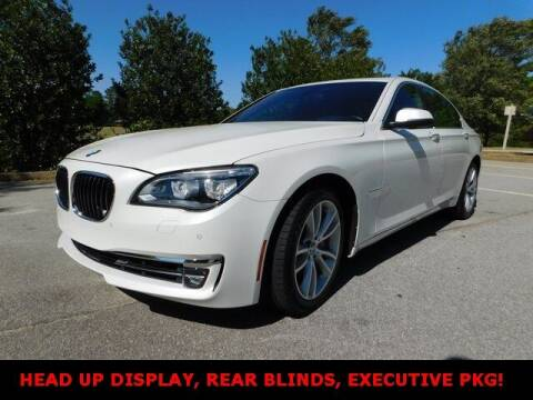 2015 BMW 7 Series for sale at West Georgia Auto Brokers in Douglasville GA