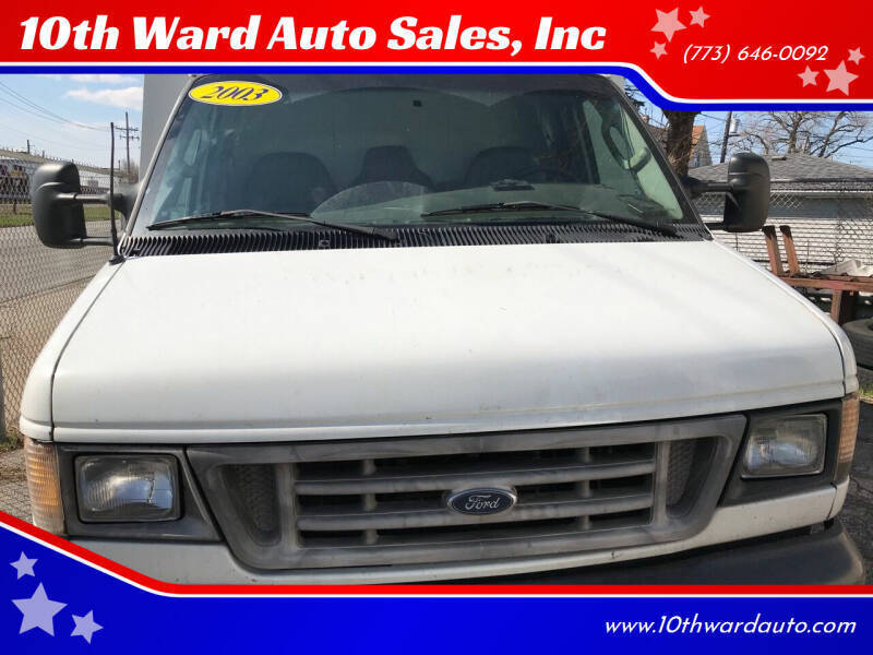 2003 Ford E-Series Chassis for sale at 10th Ward Auto Sales, Inc in Chicago IL