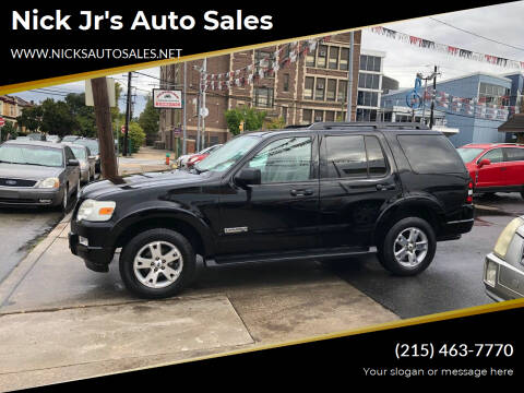 2007 Ford Explorer for sale at Nick Jr's Auto Sales in Philadelphia PA