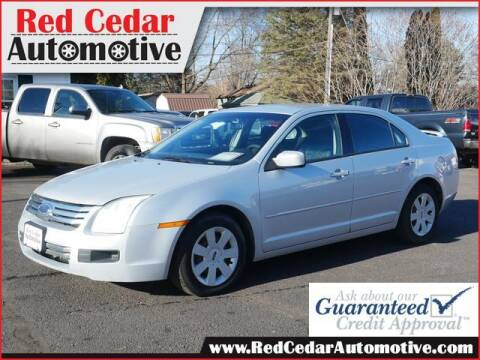 2006 Ford Fusion for sale at Red Cedar Automotive in Menomonie WI