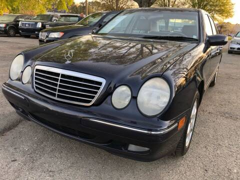 2002 Mercedes-Benz E-Class for sale at Atlantic Auto Sales in Garner NC