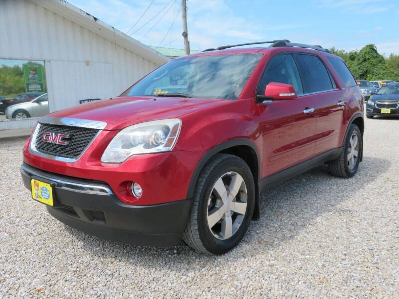 2012 GMC Acadia for sale at Low Cost Cars in Circleville OH