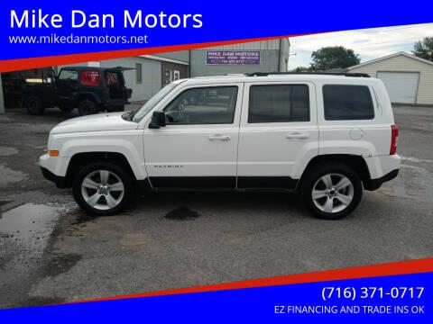 2011 Jeep Patriot for sale at Mike Dan Motors in Niagara Falls NY