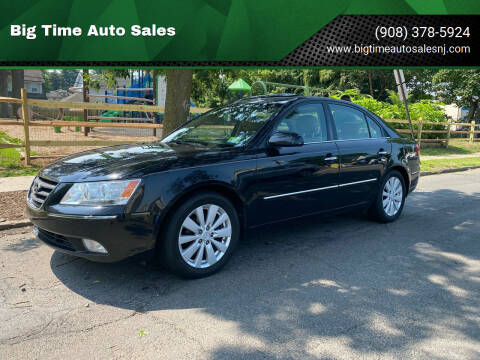 2010 Hyundai Sonata for sale at Big Time Auto Sales in Vauxhall NJ