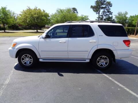 2007 Toyota Sequoia for sale at BALKCUM AUTO INC in Wilmington NC