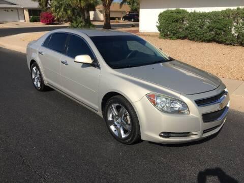 2012 Chevrolet Malibu for sale at FAMILY AUTO SALES in Sun City AZ