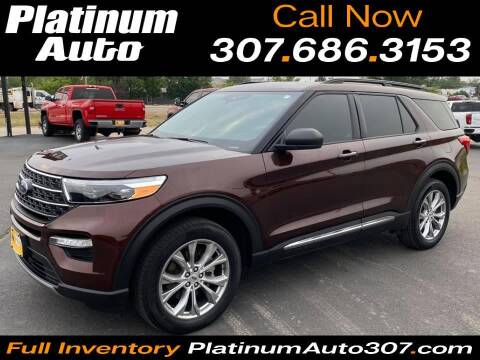 2020 Ford Explorer for sale at Platinum Auto in Gillette WY