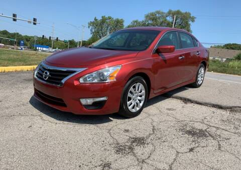 2015 Nissan Altima for sale at InstaCar LLC in Independence MO
