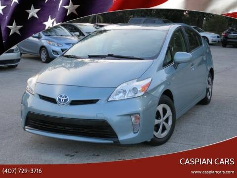2013 Toyota Prius for sale at Caspian Cars in Sanford FL