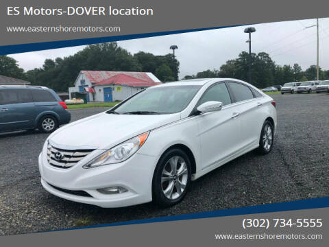 2011 Hyundai Sonata for sale at ES Motors-DAGSBORO location - Dover in Dover DE