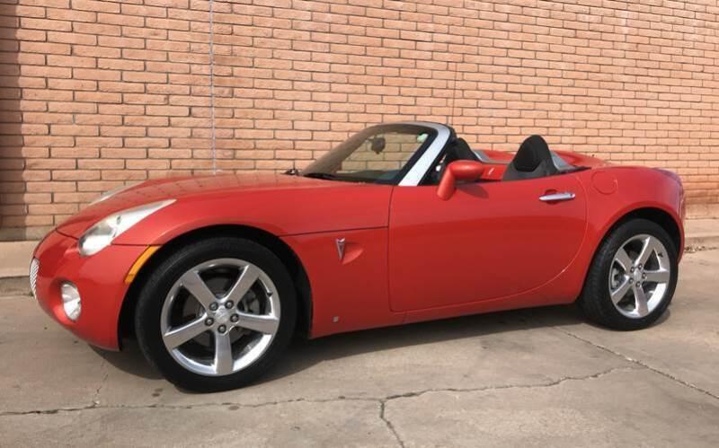 2008 Pontiac Solstice for sale at Freedom  Automotive in Sierra Vista AZ