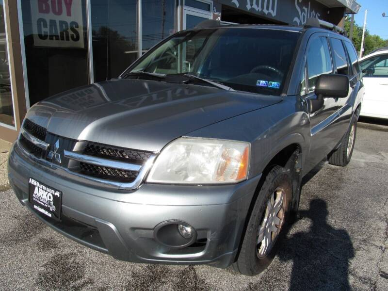 2007 Mitsubishi Endeavor for sale at Arko Auto Sales in Eastlake OH