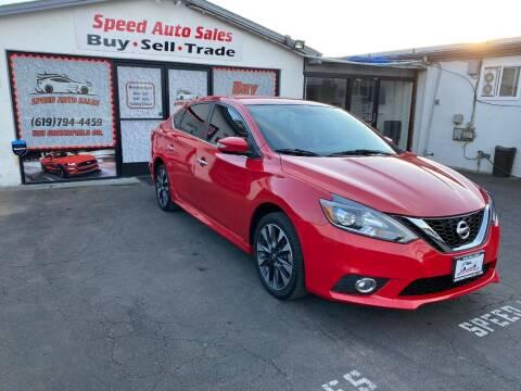 2016 Nissan Sentra for sale at Speed Auto Sales in El Cajon CA