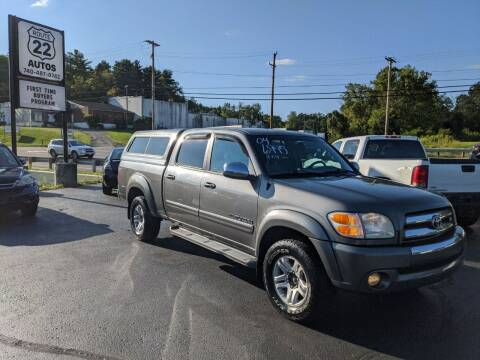 2004 Toyota Tundra for sale at Route 22 Autos in Zanesville OH