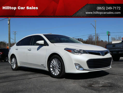 2014 Toyota Avalon Hybrid for sale at Hilltop Car Sales in Knox TN