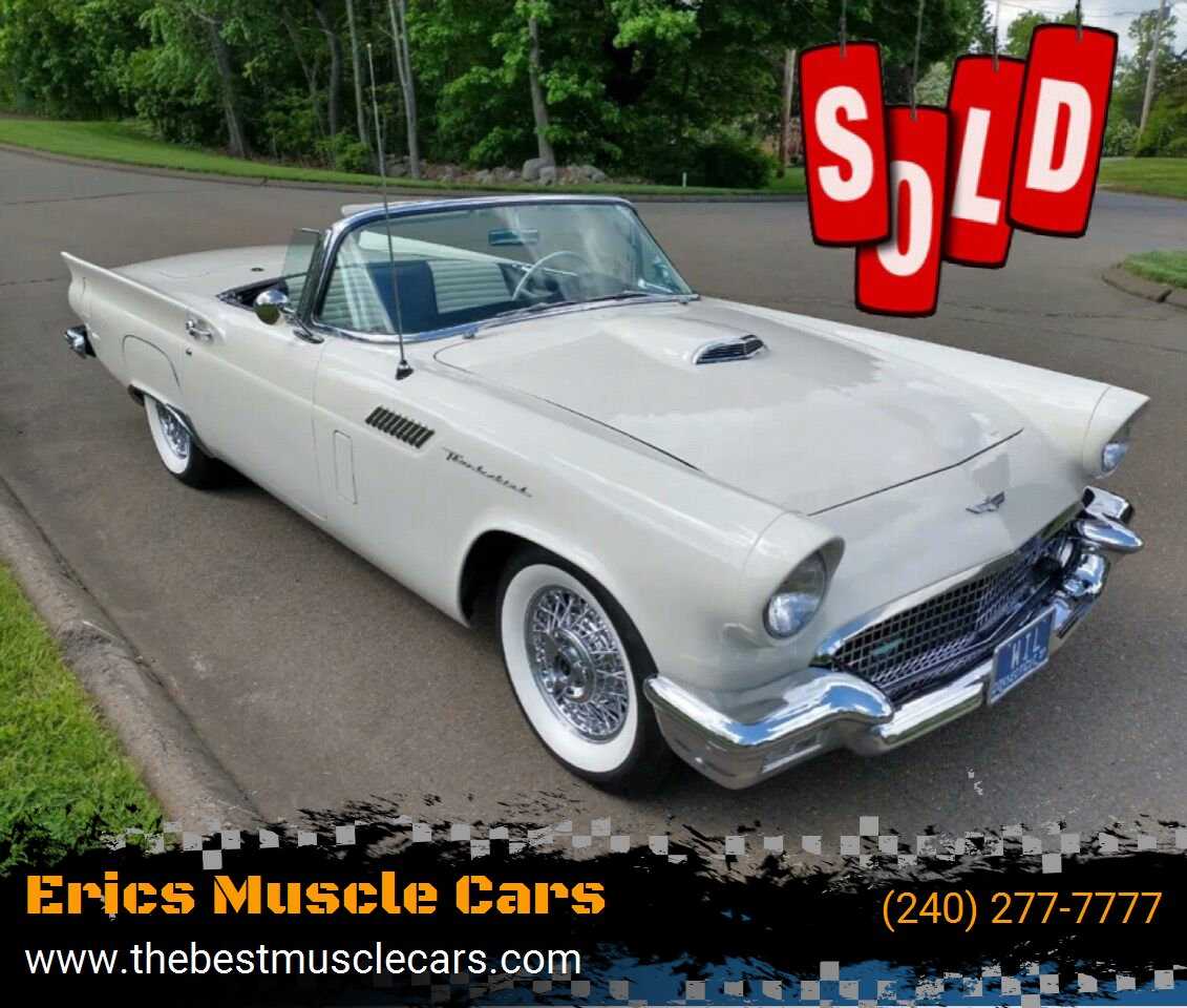 1957 Ford Thunderbird SOLD SOLD SOLD