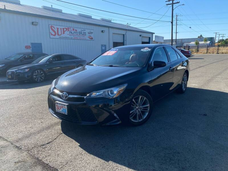 2015 Toyota Camry for sale at SUPER AUTO SALES STOCKTON in Stockton CA
