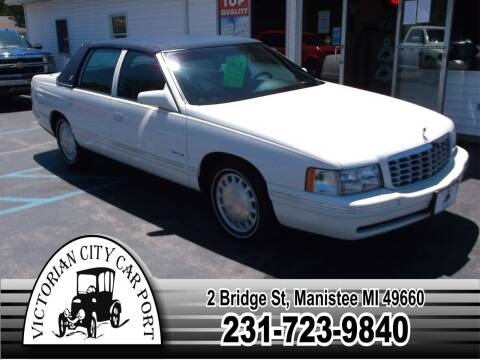 1999 Cadillac DeVille for sale at Victorian City Car Port INC in Manistee MI