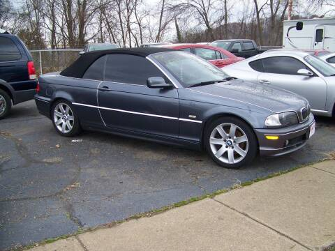 2002 BMW 3 Series for sale at Collector Car Co in Zanesville OH