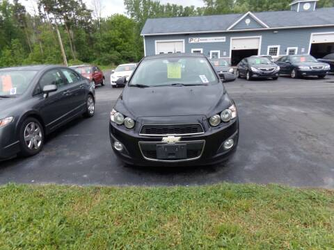2012 Chevrolet Sonic for sale at Pool Auto Sales Inc in Spencerport NY