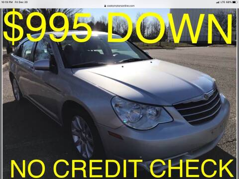 2010 Chrysler Sebring for sale at Cooks Motors in Westampton NJ