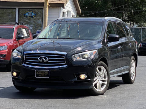 2013 Infiniti JX35 for sale at Kugman Motors in Saint Louis MO