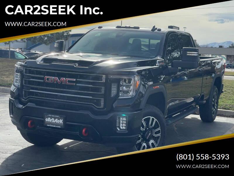2021 GMC Sierra 3500HD for sale at CAR2SEEK Inc. in Salt Lake City UT