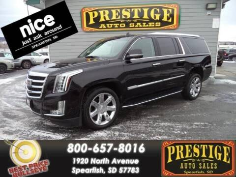 2020 Cadillac Escalade ESV for sale at PRESTIGE AUTO SALES in Spearfish SD