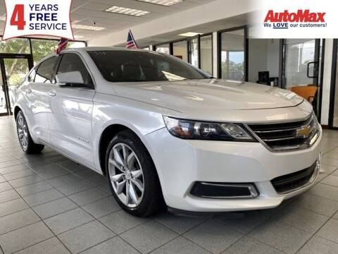 2016 Chevrolet Impala for sale at Auto Max in Hollywood FL