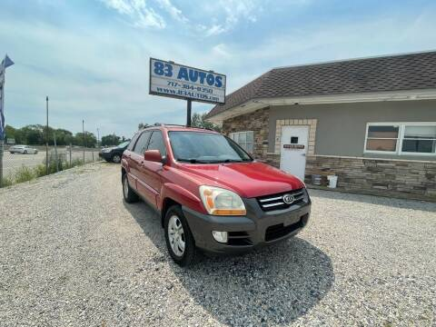 2006 Kia Sportage for sale at 83 Autos in York PA