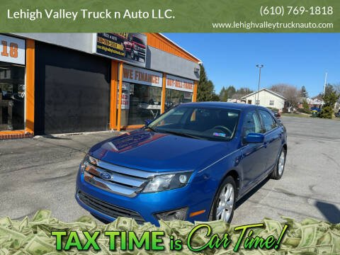 2012 Ford Fusion for sale at Lehigh Valley Truck n Auto LLC. in Schnecksville PA