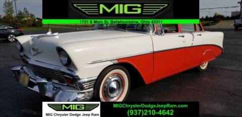 1956 Chevrolet Bel Air for sale at MIG Chrysler Dodge Jeep Ram in Bellefontaine OH