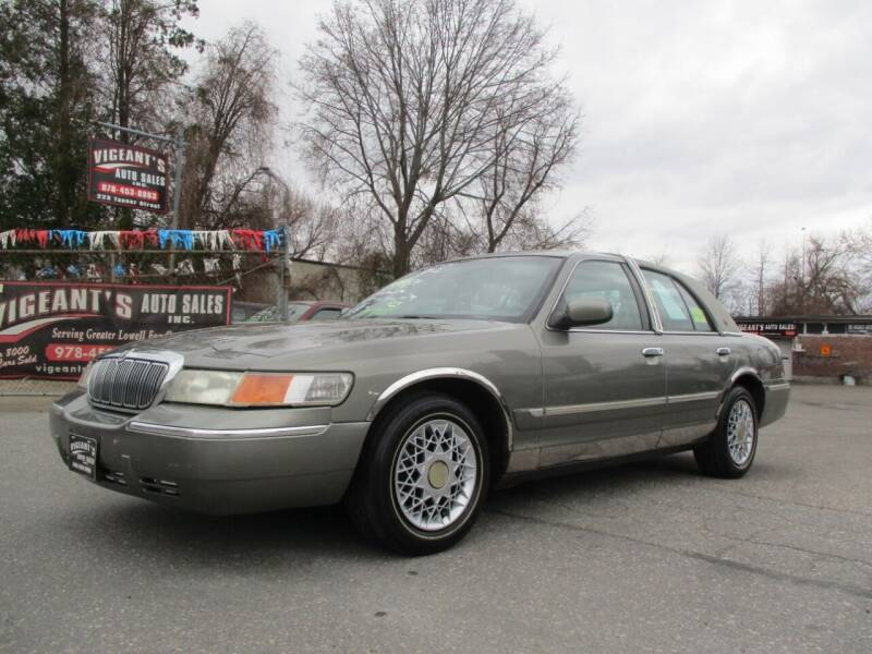 2001 Mercury Grand Marquis for sale at Vigeants Auto Sales Inc in Lowell MA