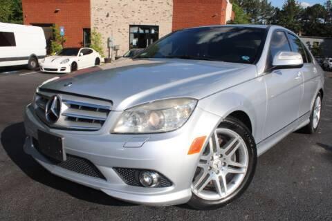 2008 Mercedes-Benz C-Class for sale at Atlanta Unique Auto Sales in Norcross GA