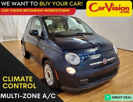 2015 FIAT 500 for sale at Car Vision Mitsubishi Norristown in Trooper PA