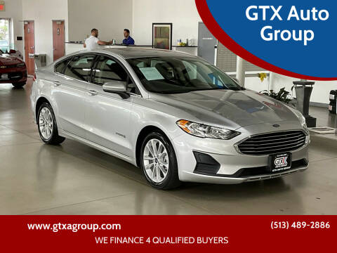 2019 Ford Fusion Hybrid for sale at GTX Auto Group in West Chester OH