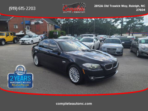 2011 BMW 5 Series for sale at Complete Auto Center , Inc in Raleigh NC