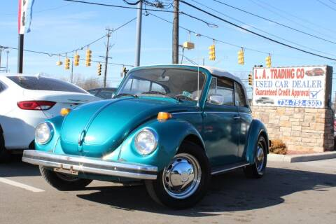 1979 Volkswagen Beetle Convertible for sale at L.A. Trading Co. in Woodhaven MI