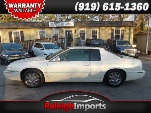 1999 Cadillac Eldorado for sale at Raleigh Imports in Raleigh NC