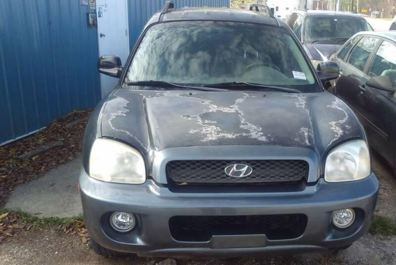 2004 Hyundai Santa Fe for sale at New Start Motors LLC in Montezuma IN