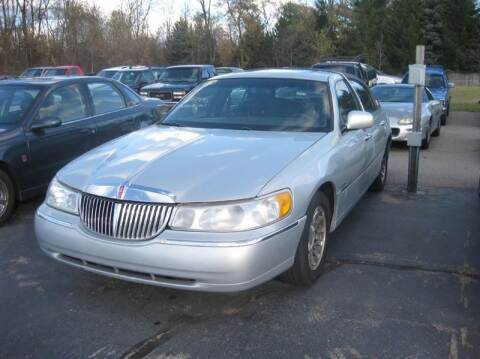 2000 Lincoln Town Car for sale at All State Auto Sales, INC in Kentwood MI
