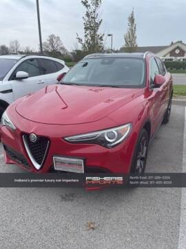 2018 Alfa Romeo Stelvio for sale at Fishers Imports in Fishers IN
