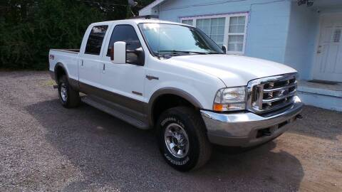 2004 Ford F-250 Super Duty for sale at action auto wholesale llc in Lillian AL